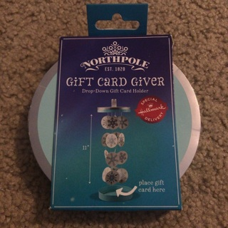 Christmas - Hallmark North Pole Gift Card Giver - NEW