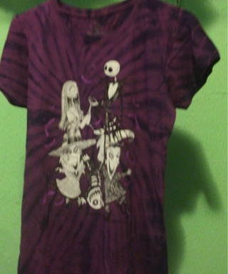 Nightmare before Christmas T-shirt Large