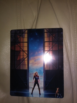 Limited Edition Captain Marvel 4K + Blu-Ray Steelbook