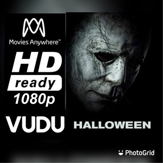 HALLOWEEN 2018 HD MOVIES ANYWHERE OR VUDU CODE ONLY
