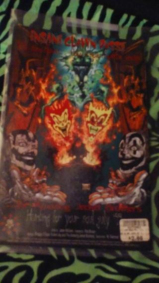 ICP Upz&Downz Wicked Clownz also #1 of#2Chaos Comics