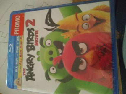Opened Never used Angey Birds 2 Movie