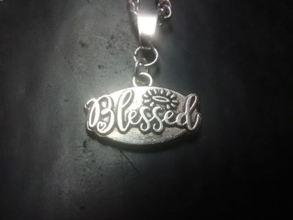 """Brand New """"Blessed"""" Necklace"""