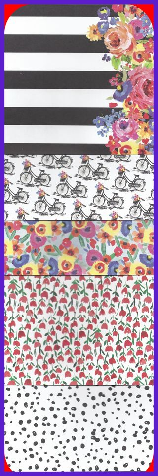 Flowers & Butterflies Boutique Acid Free Scrapbook Paper 20 Sheets