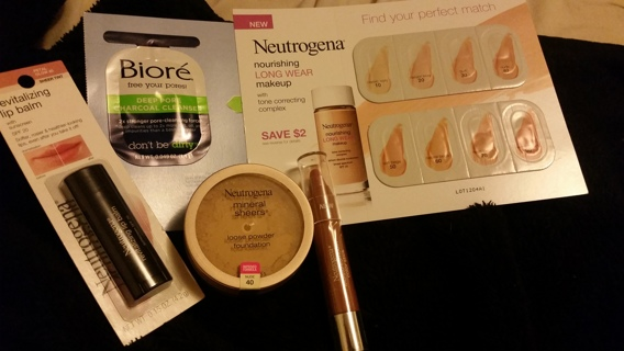 ×× NEW NEUTROGENA PRODUCTS , COVERGIRL, & BIORE (free your pores)××