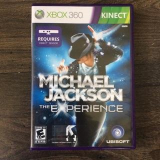 XBOX 360 KINECT - Michael Jackson The Experience