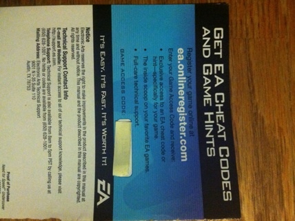 Free: EA NEED FOR SPEED UNDERCOVER(Wii) GAME ACCESS CODE