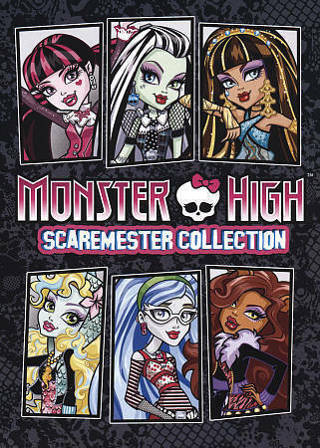2016 MONSTER HIGH:Scaremester Collection 18 EPISODES!! Dvd Movie-New & Sealed