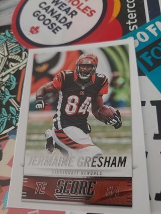 2014 Score Jermaine Gresham Cincinnati Bengals