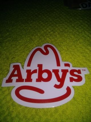 "❤✨❤✨❤️BRAND NEW ""ARBYS™"" STICKER❤✨❤✨❤"
