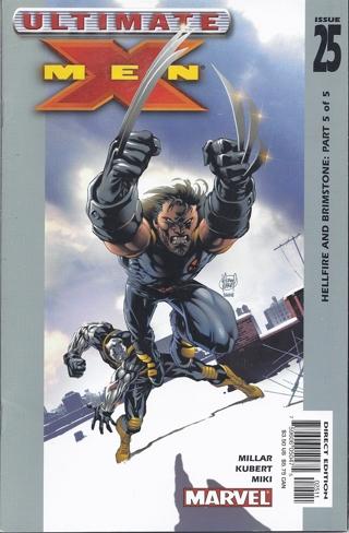 Ultimate X-Men #25 2003
