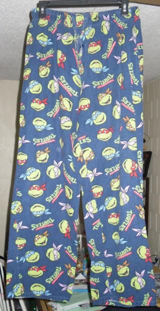 TMNT Teenage Mutant Ninja Turtles Mens Sleep Pants Pajama Bottoms