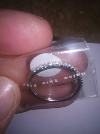 BN Sterling Silver Promise Ring
