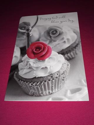 Valentine Card - Cupcakes