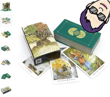 BNIP Nature Tarot Cards Deck & BONUS