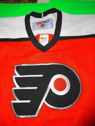 LAST CHANCE!!! Vintage NHL 80's XL Philadelphia Flyers Jersey EUC