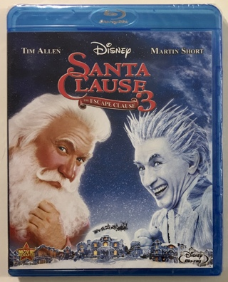 Disney The Santa Clause 3 - The Escape Clause Blu-ray Movie - Brand New Factory Sealed