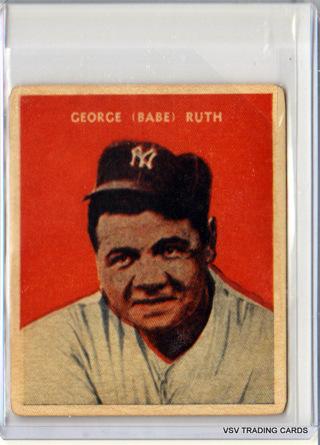 Babe Ruth, 1932 U. S. CARAMEL Reprint Card #32, New York Yankees