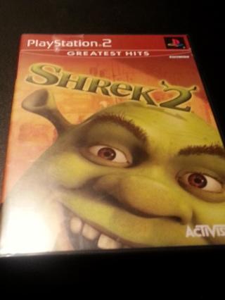 PS2 Game Shrek 2