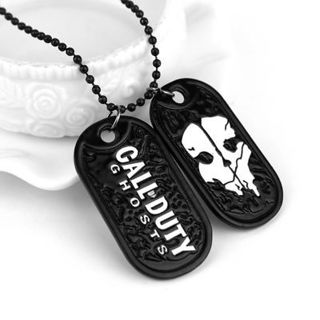 NEW Game around classic game Call of Duty Ghosts Stainless steel alloy necklace