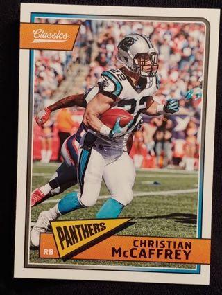 Carolina Panthers - Christian McCaffrey Football Card