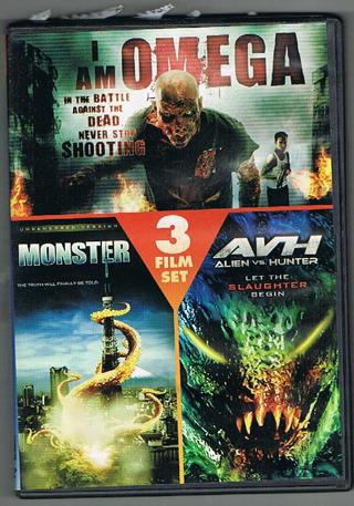 3 Horror Movies on 1 DVD