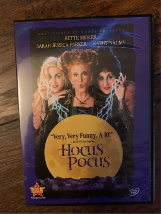 Hocus Pocus DVD only played once