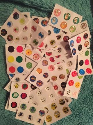 Random Home Button Stickers