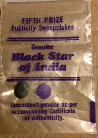 Black star of India