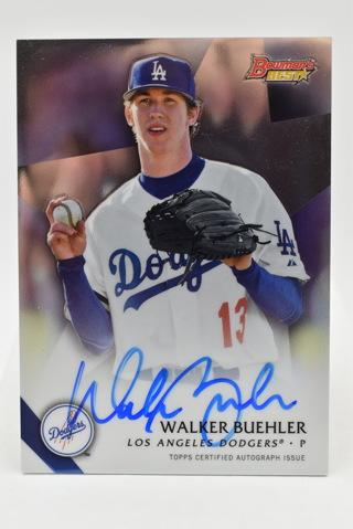 2015 Topps Bowman WALKER BUEHLER Auto Baseball Card