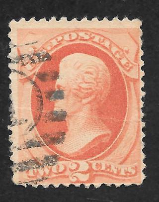 Used 1879 Sc# 183 2-cent Jackson