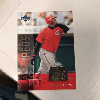 Ken Griffey Jr 2004 Upper Deck Reds