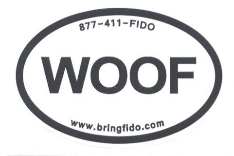 Woof Dog Sticker