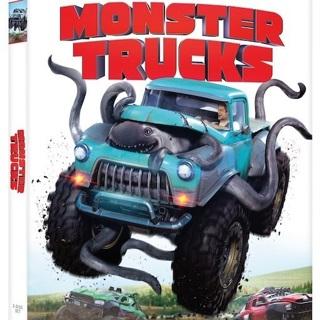 Monster Trucks HD UV & ITunes Digital Copy Code Vudu
