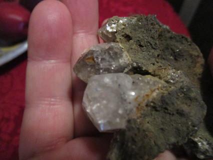 diamond filled rock