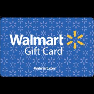 $5 Walmart gift card