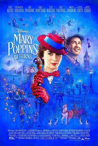 Disney's Mary Poppins Returns HD MA & DMR code
