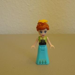New Anna Minifigure Building Toy Custom Lego
