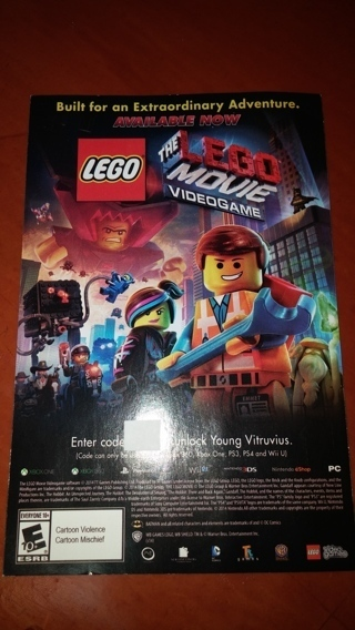Free The Lego Movie Videogame Code To Unlock Young Vitruvius Video Game Prepaid Cards Codes Listia Com Auctions For Free Stuff