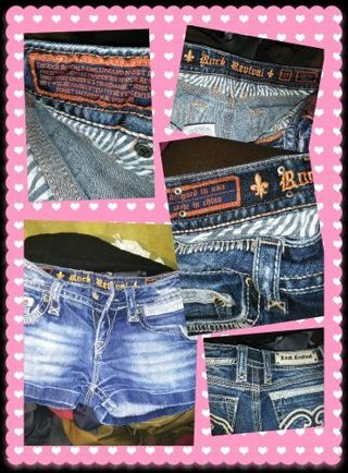 Size 7 Rock Revival Shorts