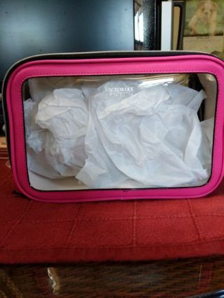 Victoria's Secret see-through travel cube