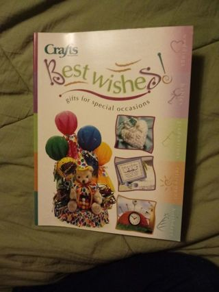 New Craft Book Best Wishes with patterns