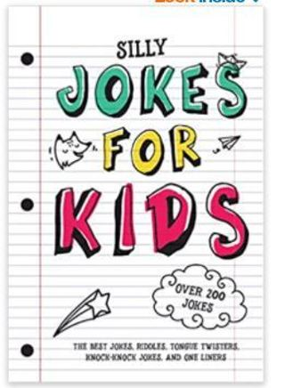 Jokes for Kids: The Best Jokes, Riddles, Tongue Twisters, Knock-Knock jokes, & One liners: Paperback