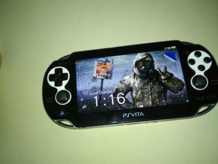 Free: PS Vita PCH-1004 3 67 w/NFS Most Wanted Card + 9 preinstalled