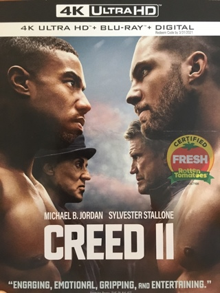 CREED II - 4K Digital Copy