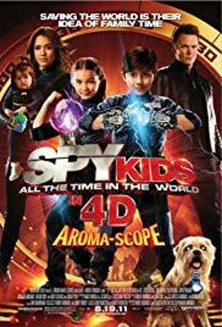 BLU-RAY SPY KIDS- ALL THE TIME IN THE WORLD