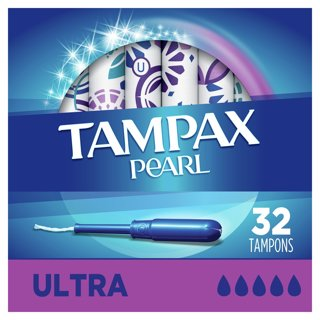 Brand New Box of Tampax Pearl