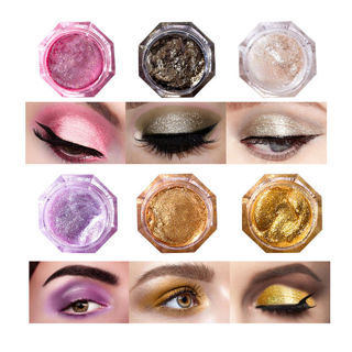 Glitter Highlight Cream Makeup Face Eye Shiny Eyeshadow Waterproof Shimmer Gift