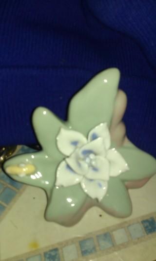 victorian porcelian flower