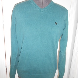 teal DC shoes pullover sweatshirt -small